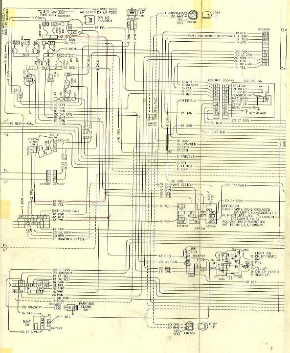 1979 ford wiring diagram 1979 malibu wiring diagram #7