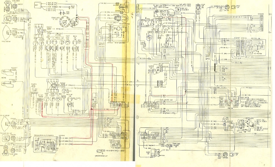 chevrolet 1978 malibu classic wiring diagrams 1979 malibu fuse box diagram