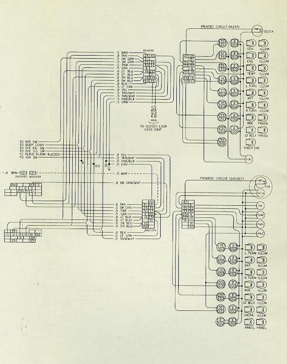 Chevrolet 1979 Malibu Classic Wiring Diagrams